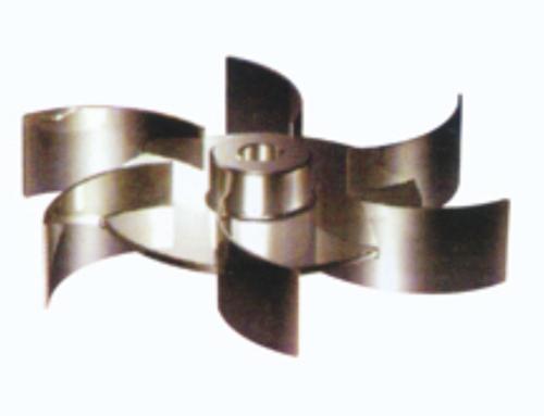 弯叶圆盘涡轮式