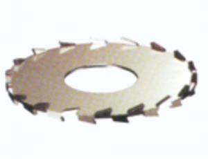 平齿形圆盘涡轮式