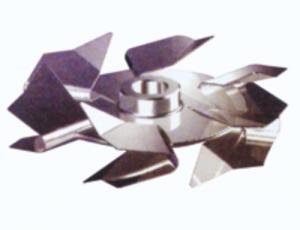 六翘叶圆盘涡轮式